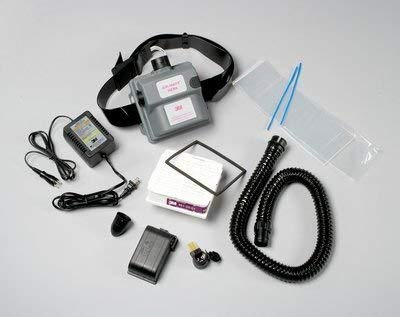 3M (AMH-1U) Vinyl Belt-Mounted High Efficiency (HE) Powered Air Purifying Respirator (PAPR) System [You are Purchasing The Min Order Quantity which is 1 Case]