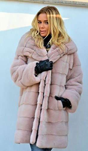 285793e7792 Aox Women Winter Faux Fur Hood Warm Thicken Coat Lady Casual Plus ...