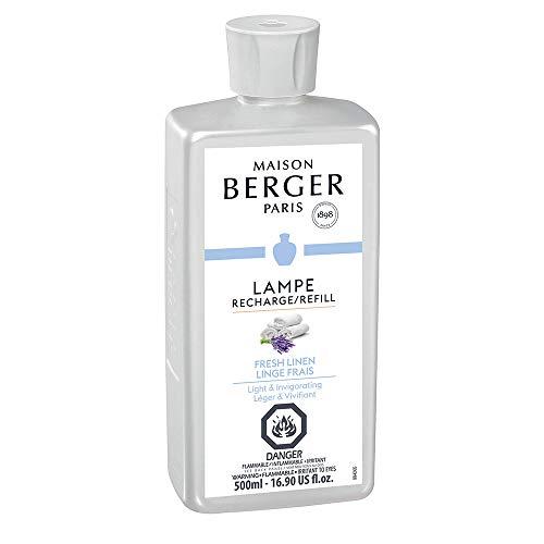 (Lampe Berger Fragrance - Fresh Linen , 500ml / 16.9 fl.oz.)