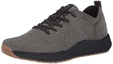 Dr. Scholl's Shoes Men's Howe Sneaker, Black Knit, 8 M US
