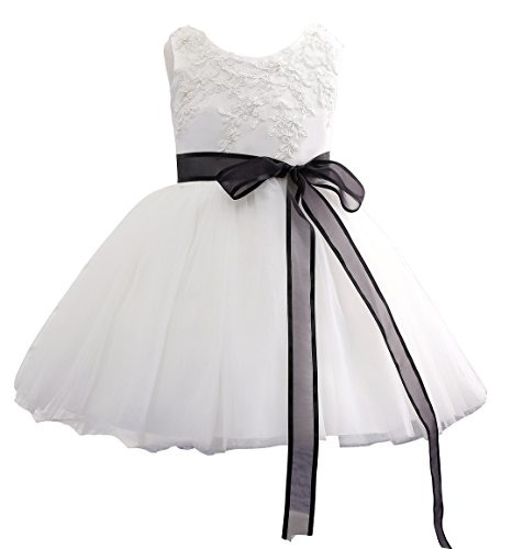 Sarahbridal Prom Girl Dresses Baby Bridesmaid Wedding Flower Girl Dress...