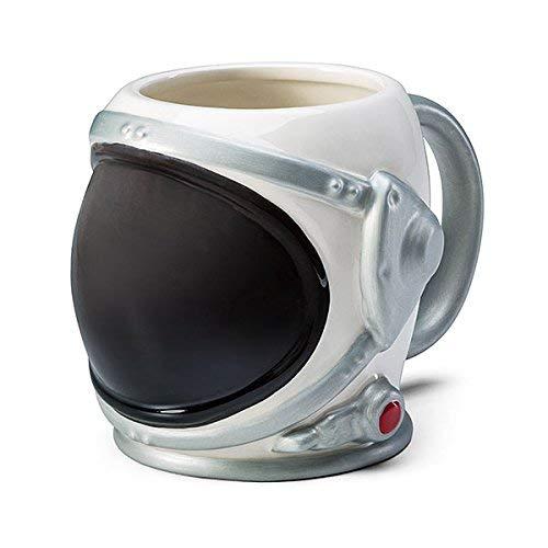 Astronaut Helmet 3D Molded Ceramic Mug]()