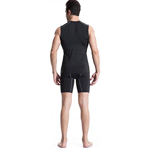 Base Muscle Couche Compression Sous Débardeur Set De E nbsp;sport Pour Lot Toptie Homme 3 Athletic wBPwzR