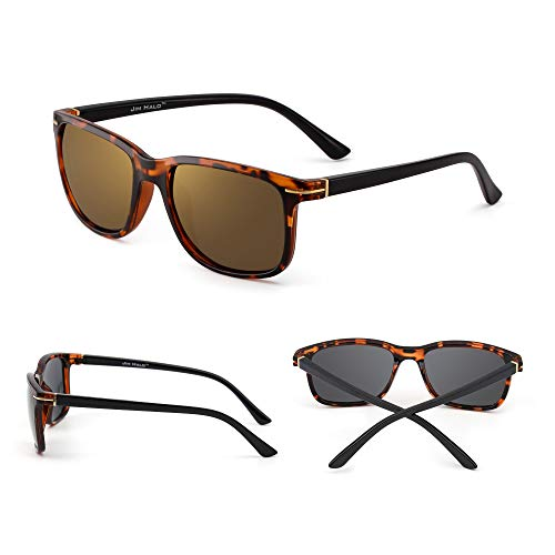 Polarizado Cuadradas Sol Tortuga Hombre Clásico de Dorado Mujer Conducir Retro Polarizadas Gafas Anteojos Xq7f6