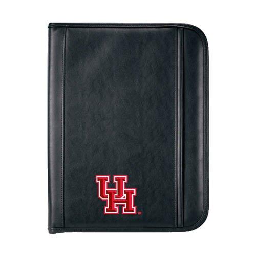Houston Cougars Insight Black Calculator Padfolio 'Interlocking UH'
