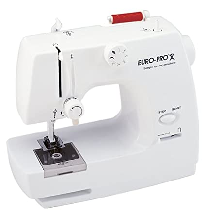 Amazon EuroPro EP40 Tiny Sewing Machine Stunning Euro Pro Denim And Silk Sewing Machine