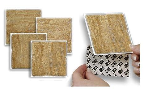 Adesivo da parete stick e go oro piastrelle autunno non cemento