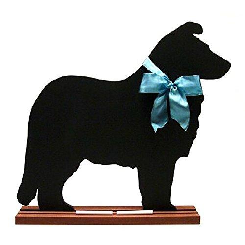 Voila Shetland Sheepdog Blackboard - Table Model