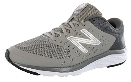 New Balance Men's 490v5 Running-Shoes, Team Away Grey/Gunmetal, 15 4E US