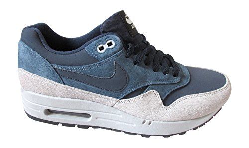 Nike Air Max 1 Ltr, Baskets mode homme Multicolore - Ardoise/Gris (Obsidian New Slate Wolf Grey 400)