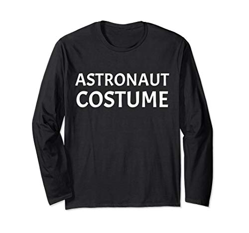 Last Minute Halloween Costume (Funny Astronaut Costume Halloween last minute Long Sleeve)