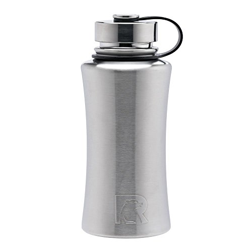 RTIC 432 Double Wall Vacuum Insulated Bottle, 32 oz, Stainless Steel