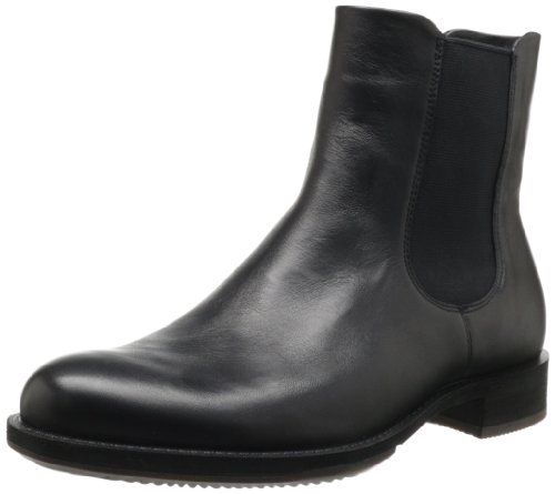 Ecco - Elegantier Stivaletto beatles Saunter von Ecco, Nero (Black - Schwarz (BLACK)), 41