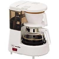 Melitta, Filterkaffeemaschine, Aromaboy, 2 Tassen-Glaskanne, Filtereinsatz, Weiß, M 2501