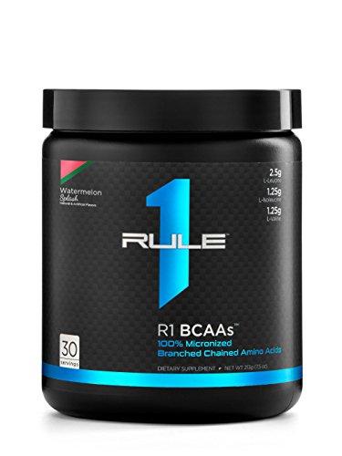 R1 BCAAs, Rule 1 Proteins (Watermelon Splash, 30 Servings)