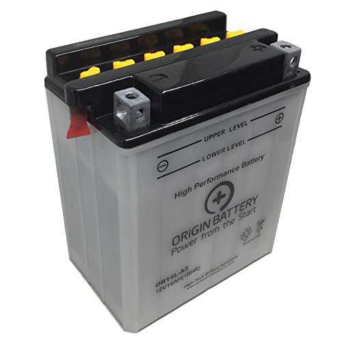 14L A2 Motorcycle Battery - 4