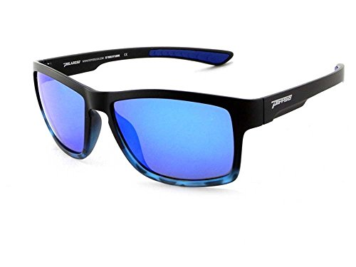 Peppers Polarized Sunglasses Tailslide Matte Black Blue Tortoise Blue - Peppers Sunglasses Warranty