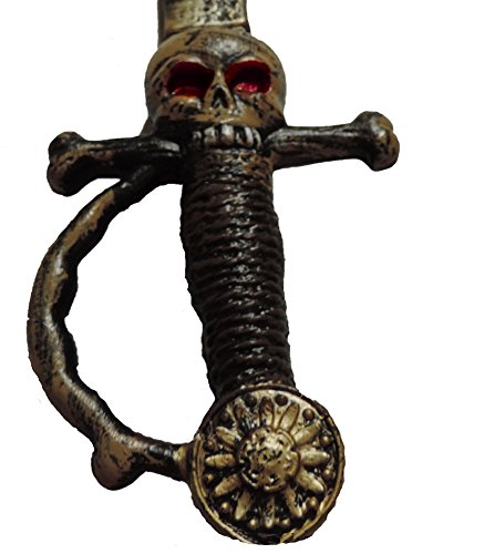 Antique Pirates Sword Gold Accent Skull Face on Handle by Dillon Imports (Image #2)
