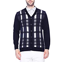 aarbee Men's Full Sleeve Button Sweater