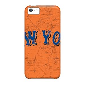 MansourMurray Iphone 5c Scratch Protection Mobile Covers Custom Stylish New York Mets Pictures [Ers13374VkCl]