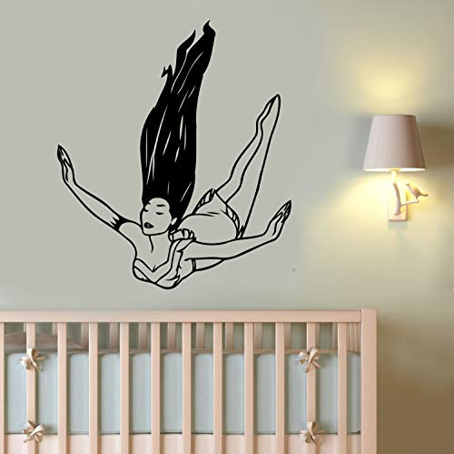 Pocahontas Wall Vinyl Art Best Decal Vinyl Sticker Disney Princess Decorations for Home Teen Kids Girls Baby Room Playroom Bedroom Cartoon Decor Made in USA Fast Delivery
