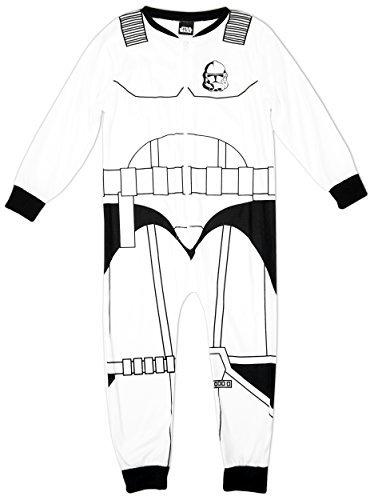 Niño Star Wars Guardia de asalto Disfraz Polar Pijama Enterizo Mono tallas desde 5 a 10