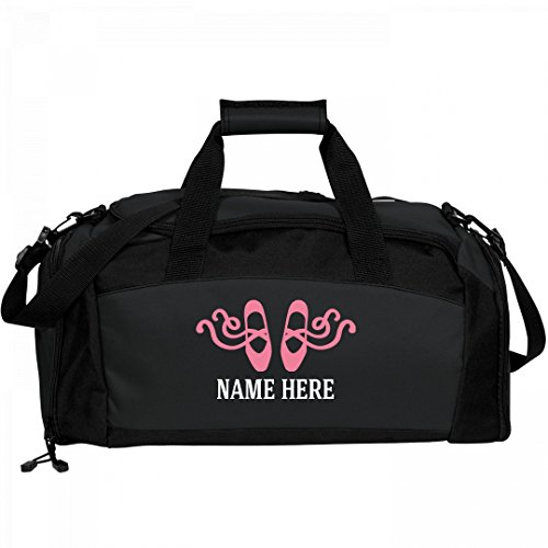 Fancy-Ballet-Shoes-Custom-Bag-Port-Company-Gym-Duffel-Bag