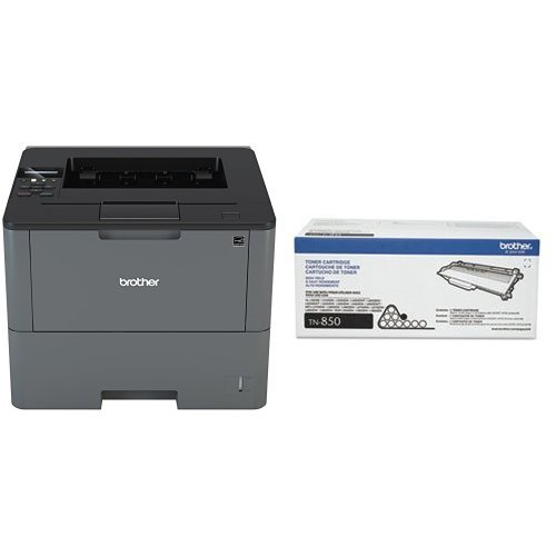 Brother HL-L6200DW Business Laser  Printer with High Yield Toner Bundle , 520 Sheet Capacity by Brother (Image #1)
