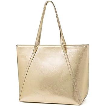 Womens Faux Leather Shoulder Bag Ladies Handbags Designer Tote Medium Large Size