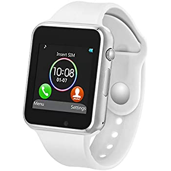 Amazon.com: Padgene Bluetooth Smart Watch GSM Phone Watch ...