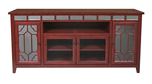 New Classic Gable End Unit, 72-Inch, Red by New Classic