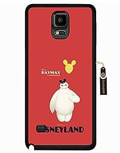 Funny Samsung Galaxy Note 4 Funda Big Hero 6 Disney Cartoon Design Durable Phone Case Cover for Kids
