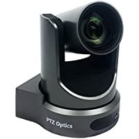 PTZOptics 12X-SDI GEN-2 PTZ IP Streaming Camera with Simultaneous HDMI and 3G-SDI Outputs - Gray
