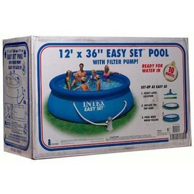 "Quality 12'x36"" East Set Pool Set By Intex"
