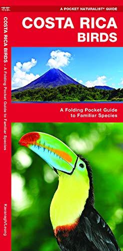 Costa Rica Birds: A Folding Pocket Guide to Familiar Species (Wildlife and Nature Identification)