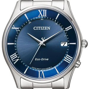 CITIZEN Watch Collection Pull Adjust Eco Drive Solar Radio Control Watch Thin AS1060-54L Mens