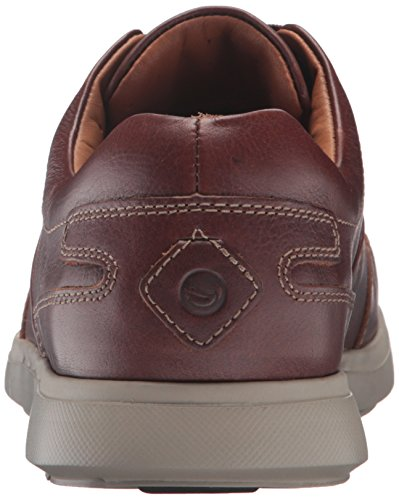 Clarks Mens Unlomac Lace Oxford Tan
