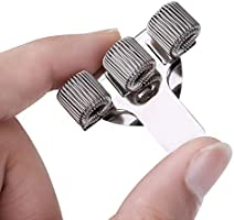 Stainless Steel Pen Holder Adjustable Triple Hole Pen Holder With Doctors Nurse