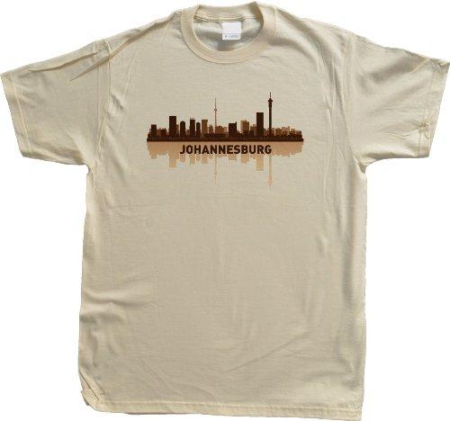 Johannesburg, South Africa City Skyline Unisex T-shirt Joburg JHB Pride Tee