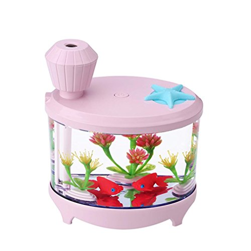Aquarium LED Humidifier (pink) - 3