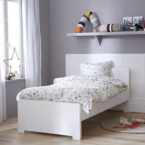 Alfred & Compagnie - Cama nido 190 cm con somieres blanco ...