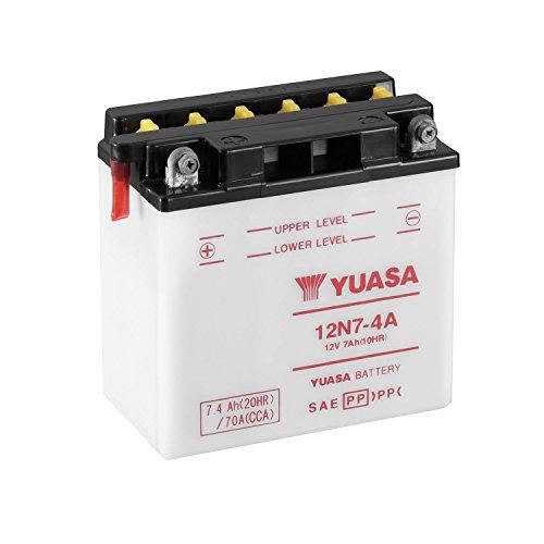 Yuasa 61409: batterij Yuasa 12N7-4A combipack (met elektrolyt)