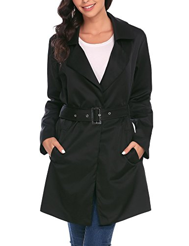 Button Belted Trench - 7