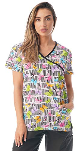 Just Love Women's Scrub Tops 216WJ-2-XL