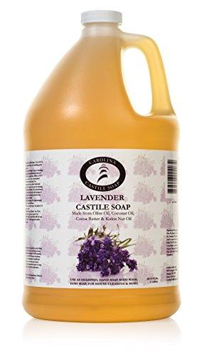 Carolina Castile Soap Lavender | Certified Organic - 1 Gallon