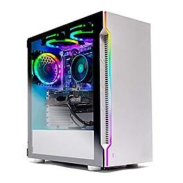 Skytech Archangel Gaming Computer PC Desktop – Ryzen 5 3600 3.6GHz, GTX 1660 6G, 500GB SSD, 8GB DDR4 3000MHz, RGB Fans…