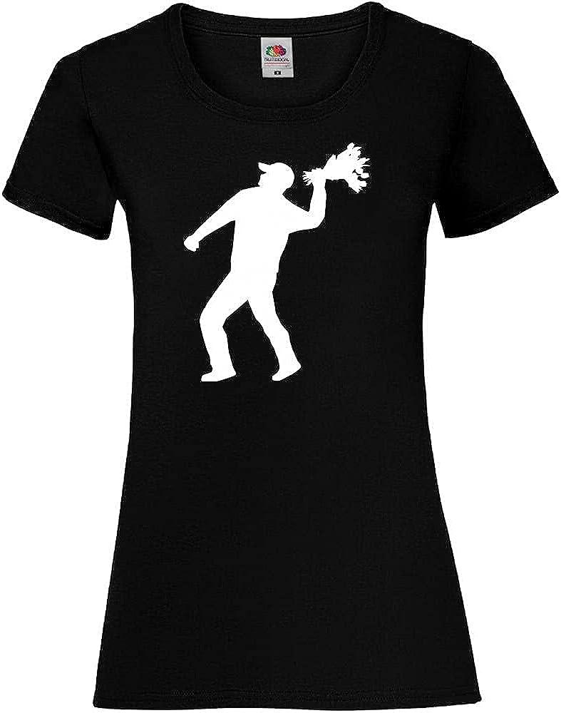 Shirt84.de - Camiseta para mujer con diseño de flores