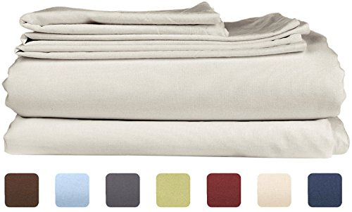 King Size Sheet Set - 6 Piece Set - Hotel Luxury Bed Sheets - Extra Soft - Deep Pockets - Easy Fit - Wrinkle Free - Breathable & Cooling Sheets - Gray - Light Grey Bed Sheets - Kings Sheets - 6 PC