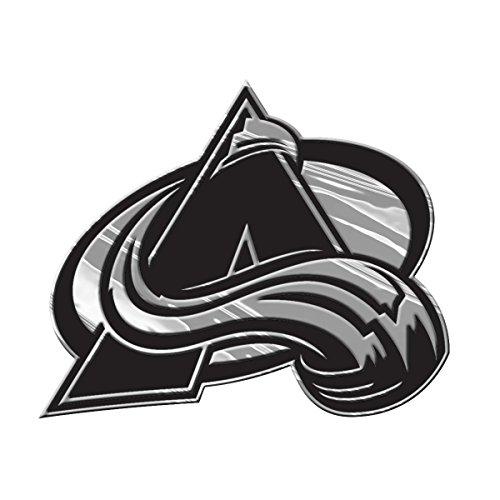 NHL Colorado Avalanche Chrome Automobile - Colorado Outlets
