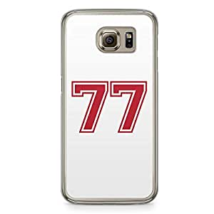 77 Samsung Galaxy S6 Transparent Edge Case - Numbers Collection